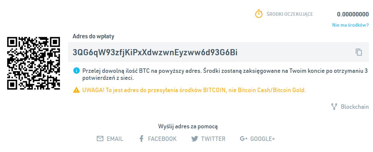 Portfel Bitcoin (BTC)